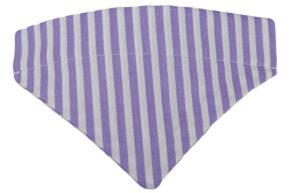 Halsbandtuch-Streifen-Flieder