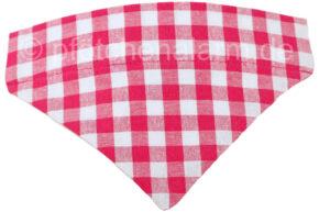 Halsbandtuch-Karo-pink
