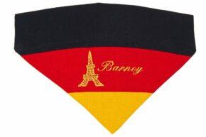 Halsbandtuch-Deutschland-Frankreich-Name