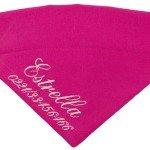 Halsbandtuch-Pink-Name-4